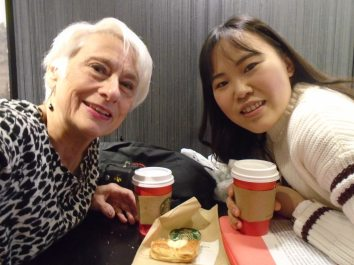 Coffee at Starbucks w/ Friend 2015